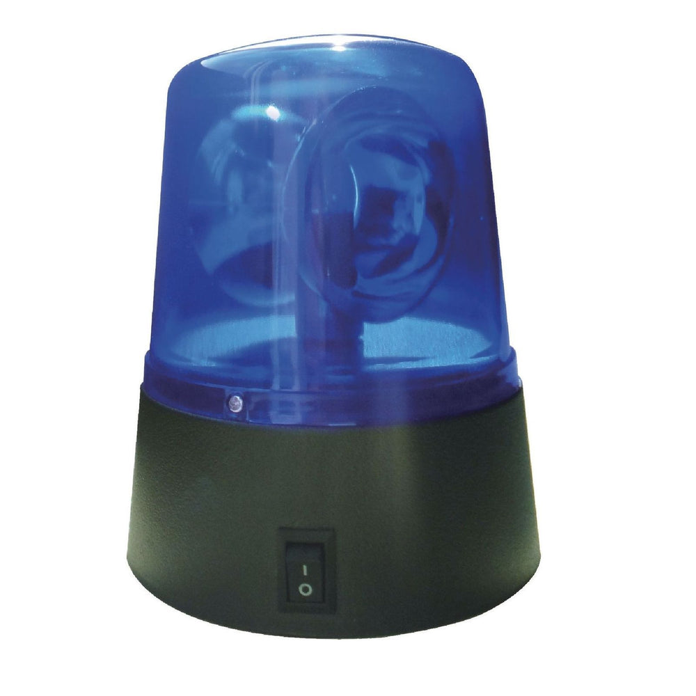 LED Signal Lamp - Blue Rotating Police Style Lamp