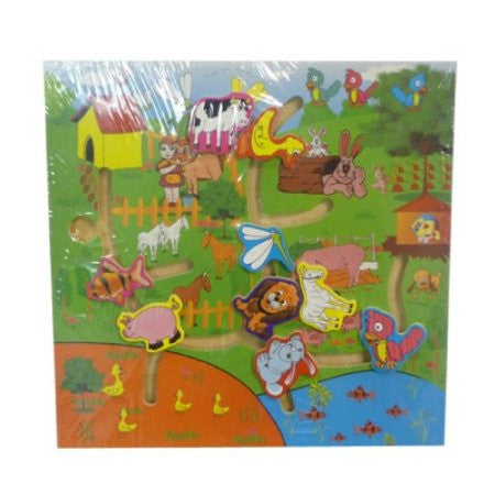 Children's Animal Maze Puzzle