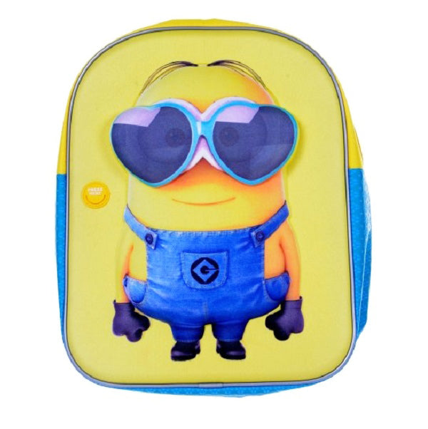 Minion Cool Summer Backpack with Sounds