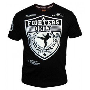Fighters Only Men's 'Raise Your Guard' T-Shirt - Black/White