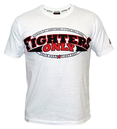 Fighters Only Men's MMA T-Shirt UK White
