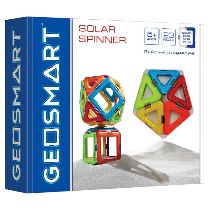 Geosmart Solar Spinner in a box