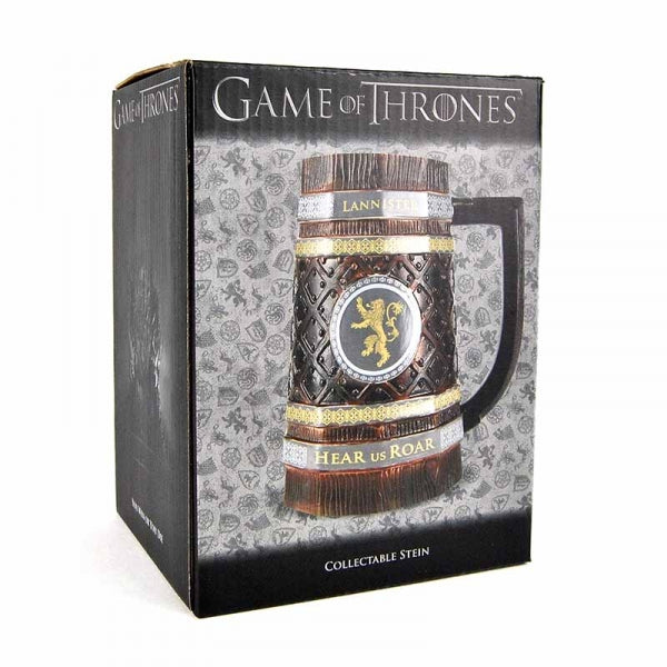 Game Of Thrones Wood Effect Collectable Stein - Lannister