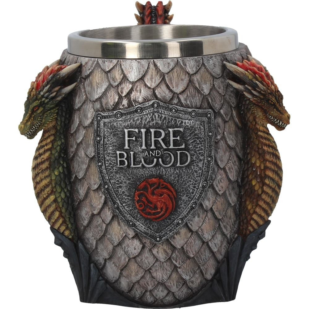 Game Of Thrones House Targaryen Tankard 14cm