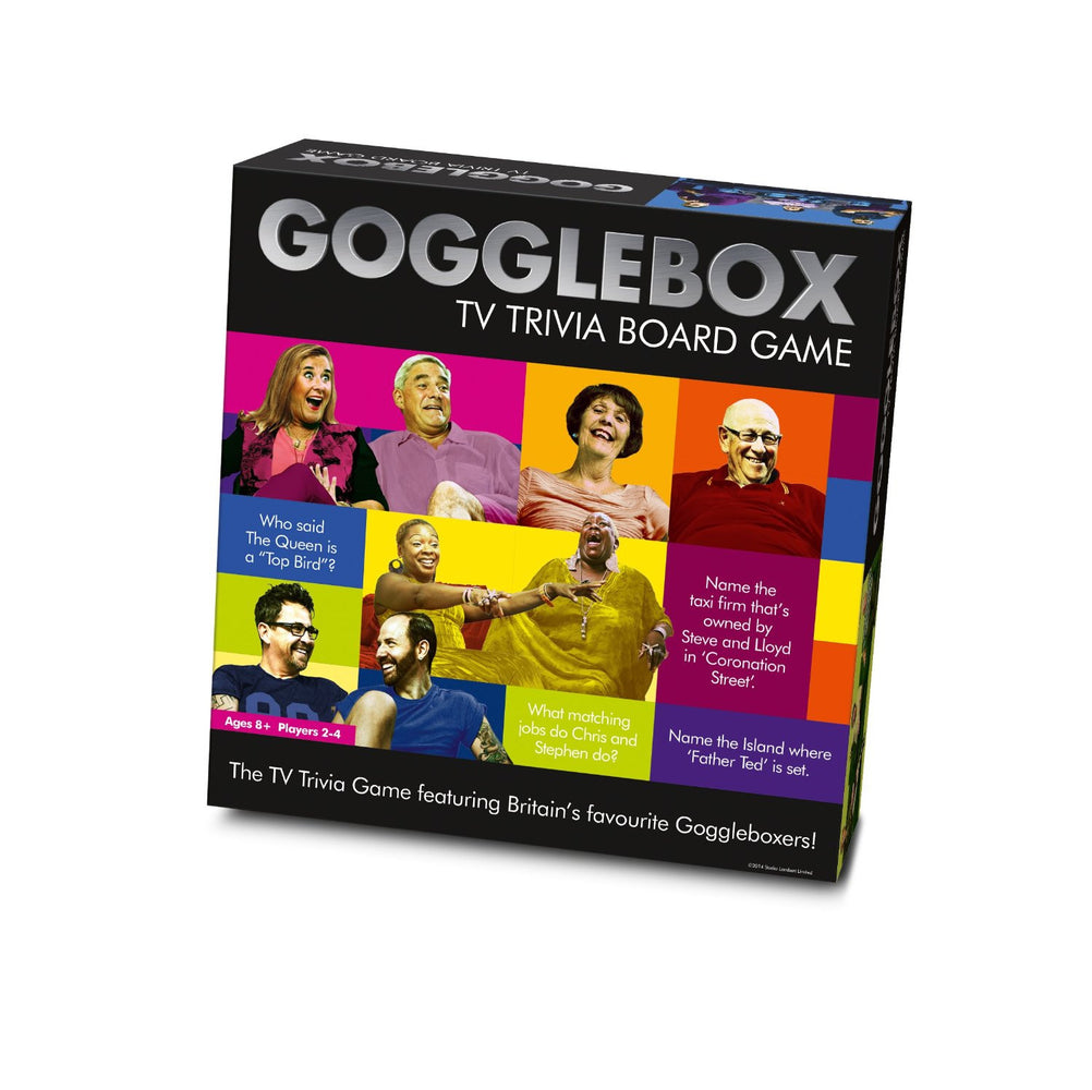 Gogglebox TV Trivia Board Game