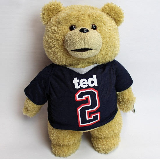 'Ted 2' Movie Jersey Football Top Soft Plush Toy 18""