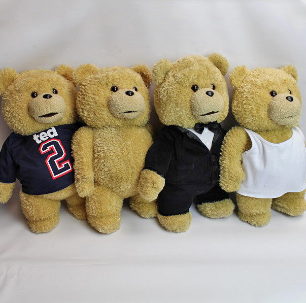 'Ted 2' Movie Black Tuxedo Soft Plush Toy 18""