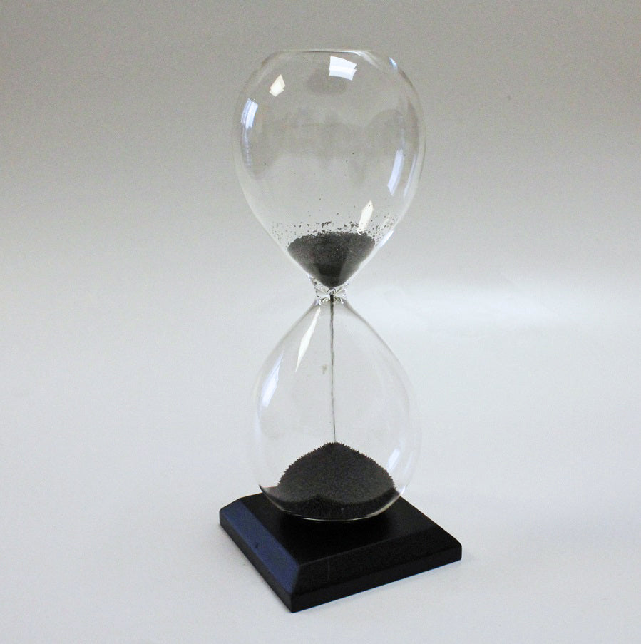 Magnetic Hourglass Sand Timer by Stone The Crows