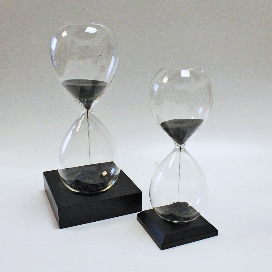 Magnetic Hourglass Sand Timers by Stone The Crows