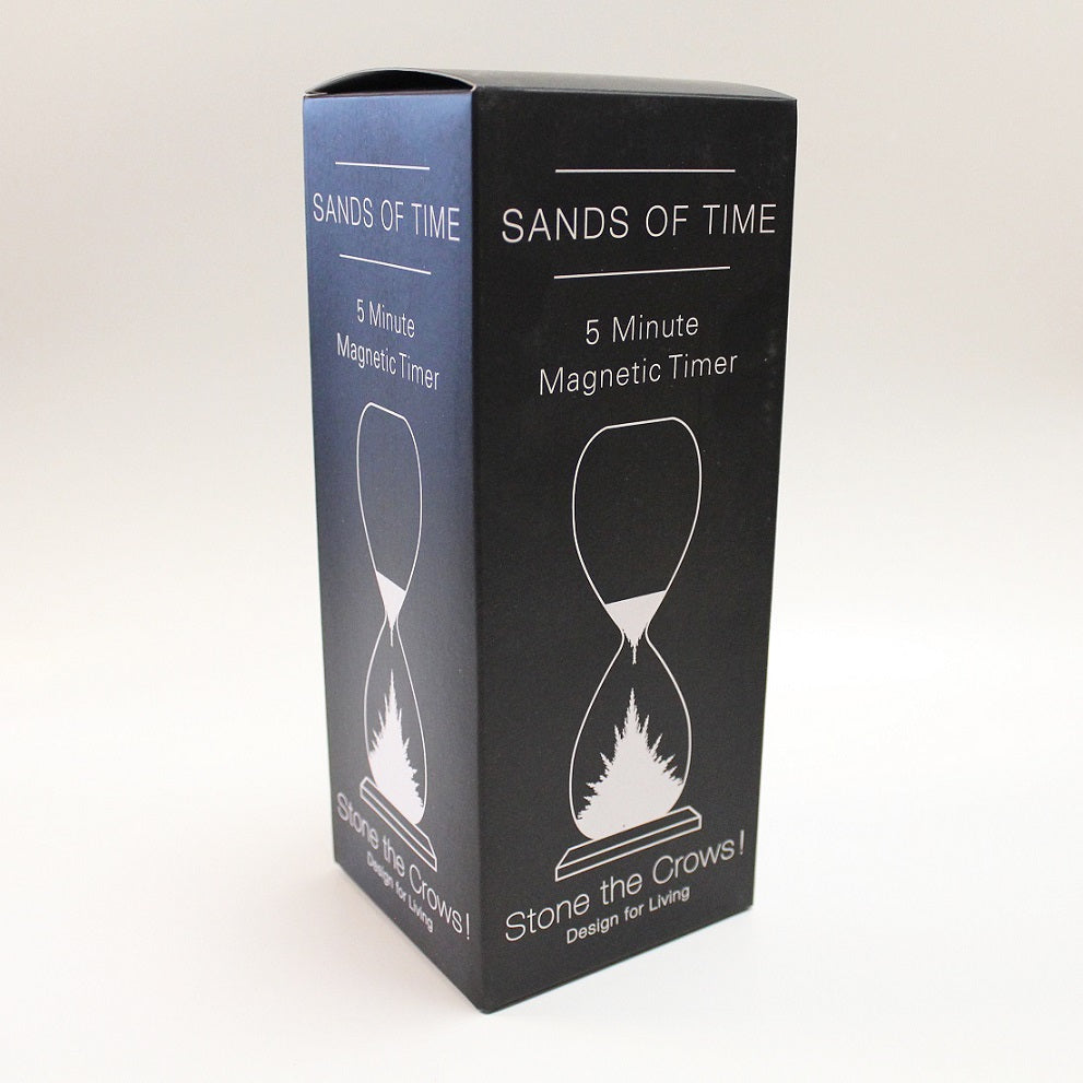 Magnetic Hourglass 5 Min Sand Timer Box