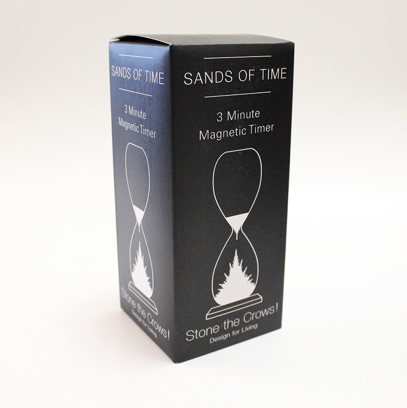 Magnetic Hourglass 3 Min Sand Timer Box