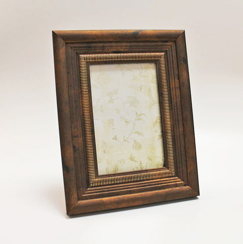 "Antique Copper Photo Frame 4"" x 6"" by Stone The Crows"