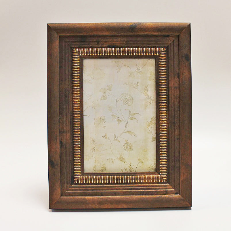 "Antique Copper Photo Frame 4"" x 6"" by Stone The Crows Front"
