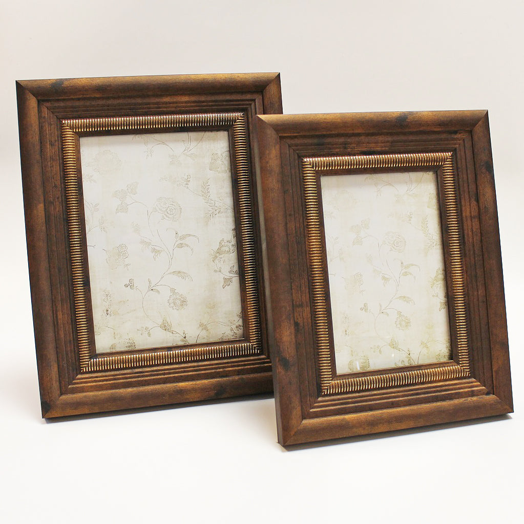 Antique Copper Photo Frame by Stone The Crows Pair