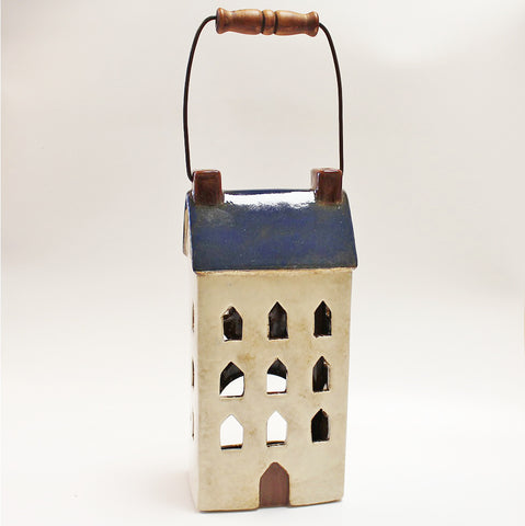 Coastal Townhouse Lantern by Stone The Crows