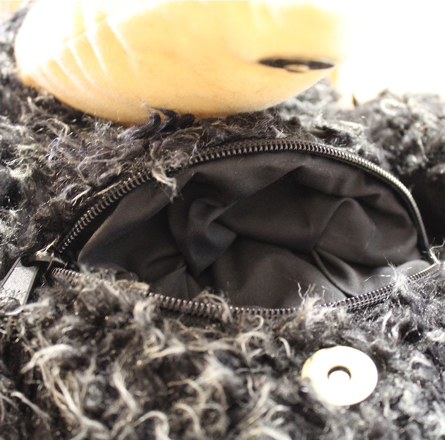 Plush Crow Backpack by Stone The Crows Zip 2