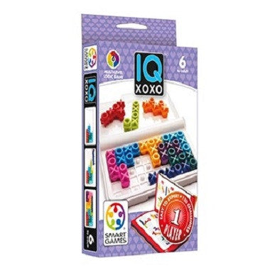 Smart IQ XOXO -  1 Player Puzzle for hours of endless brain teasing fun
