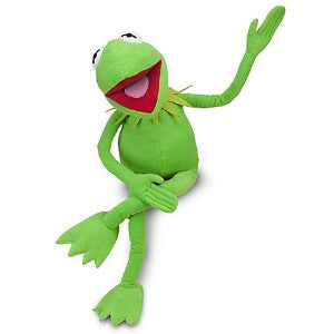 "The Muppet Show: Kermit the Frog - 12"" plush toy - AKA: Froggy baby, Kermie, Green stuff"