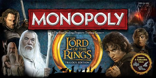 Monopoly The Lord of the Rings Trilogy Edition Board Game