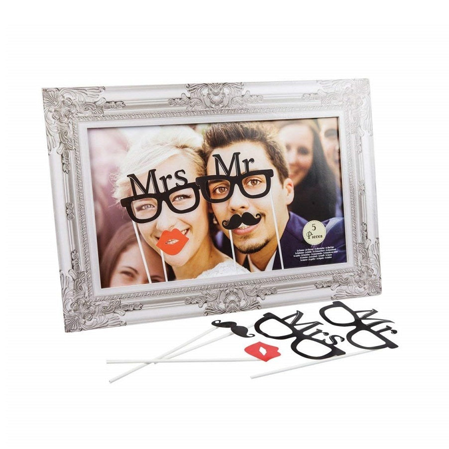 Mr & Mrs Photo Accessories Set by Roxan