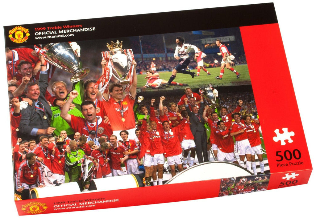 Manchester United 1999 Treble Winners jigsaw puzzle (500pc)
