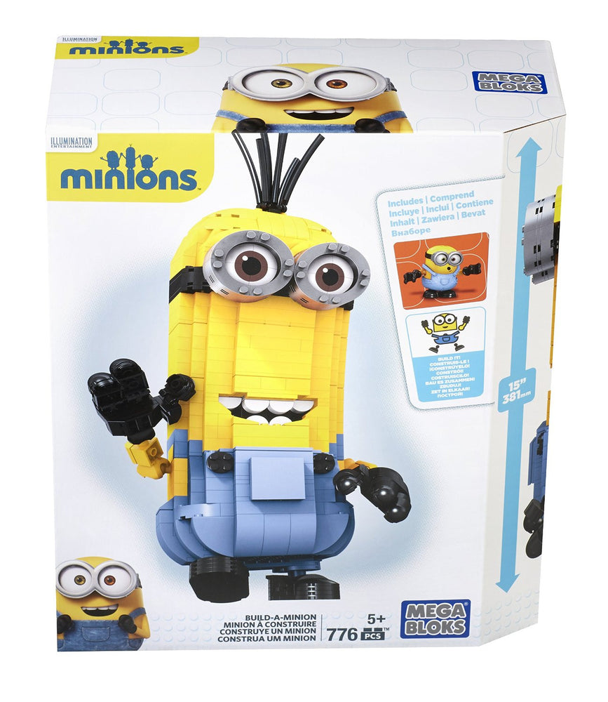 Mega Bloks Despicable Me Minions Build-A-Minion Set