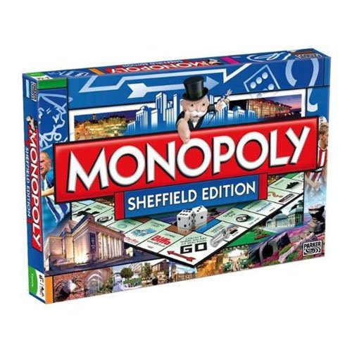 Monopoly SHEFFIELD Board Game