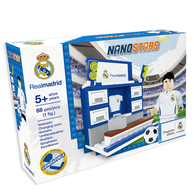 Nanostars Real Madrid Football Club Changing Room construction box