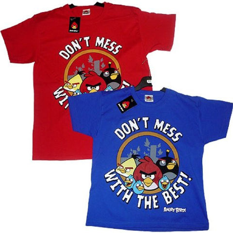 Angry Birds Kids 'Don't Mess with the Best' T-shirt - Red Only