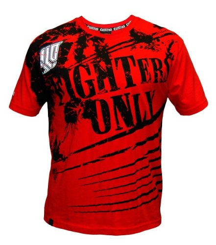 Official Fighters Only Red Splatter T-Shirt MMA-UFC specialists