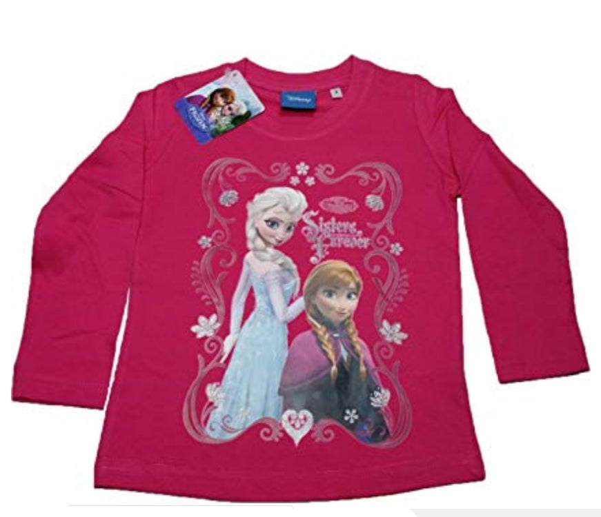 Disney Girls 'Frozen' Long Sleeve T-Shirt