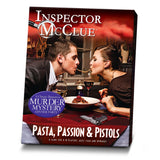 Inspector McClue Murder Mystery Game - Pasta, Passion and Pistols