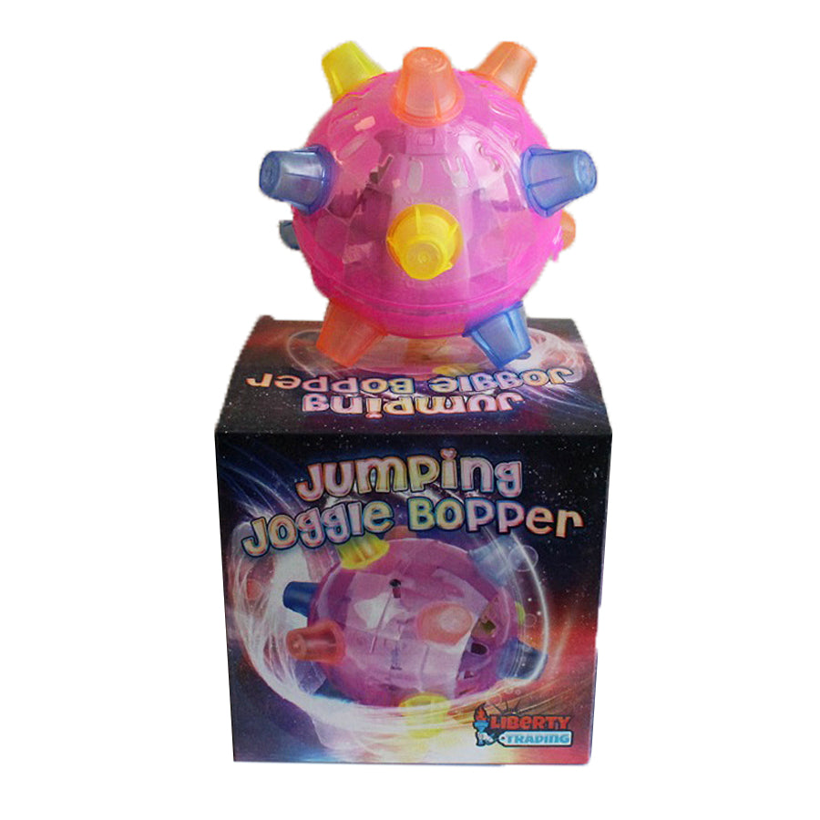 Jumping Joggle Bopper Flashing Pink with box