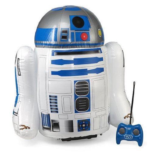r2-d2 2 foot inflatable remote control is a great gift for kids, gift for him or gadget gift for men