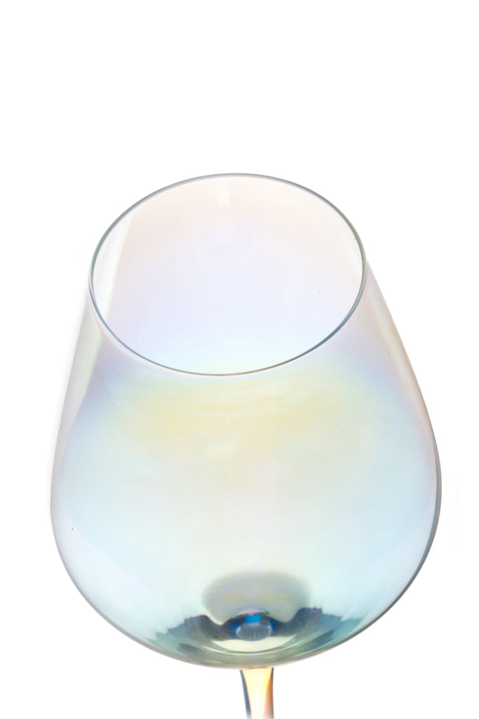 Rainbow Wine Glasses - Set of 2