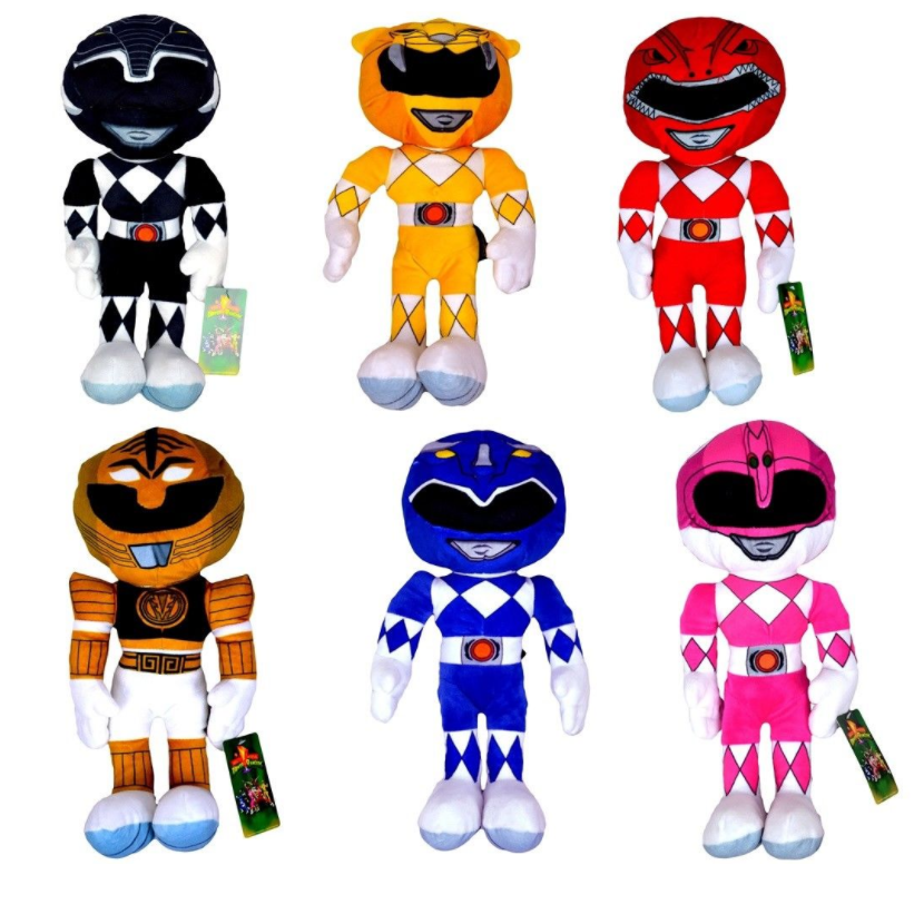 "Power Rangers 10"" Plush Action Figure Toy"