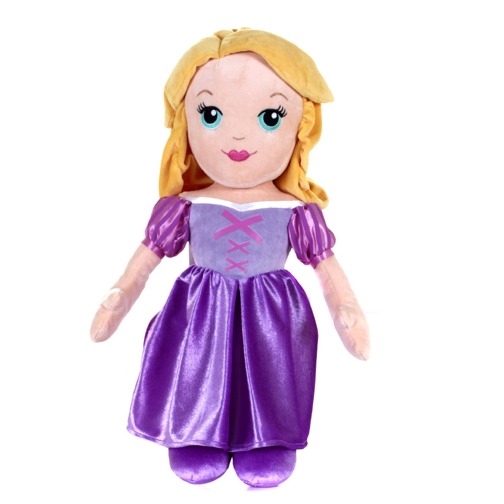 "Original Classic Disney Princess 12"" Soft Plush Doll ~ Rapunzel"