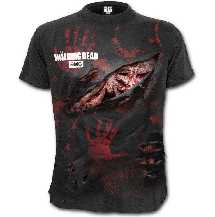 Men's Rick Grimes 'All Infected' Walking Dead T-Shirt