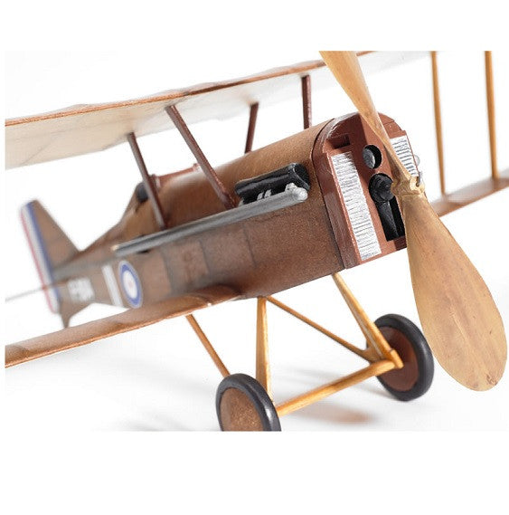 SE5A flying scale model aircraft kit front view