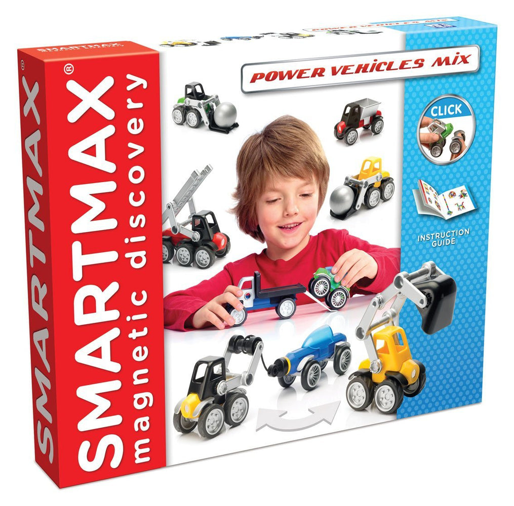 Smartmax ~ Magnetic Discovery ~ Power Vehicles Mix