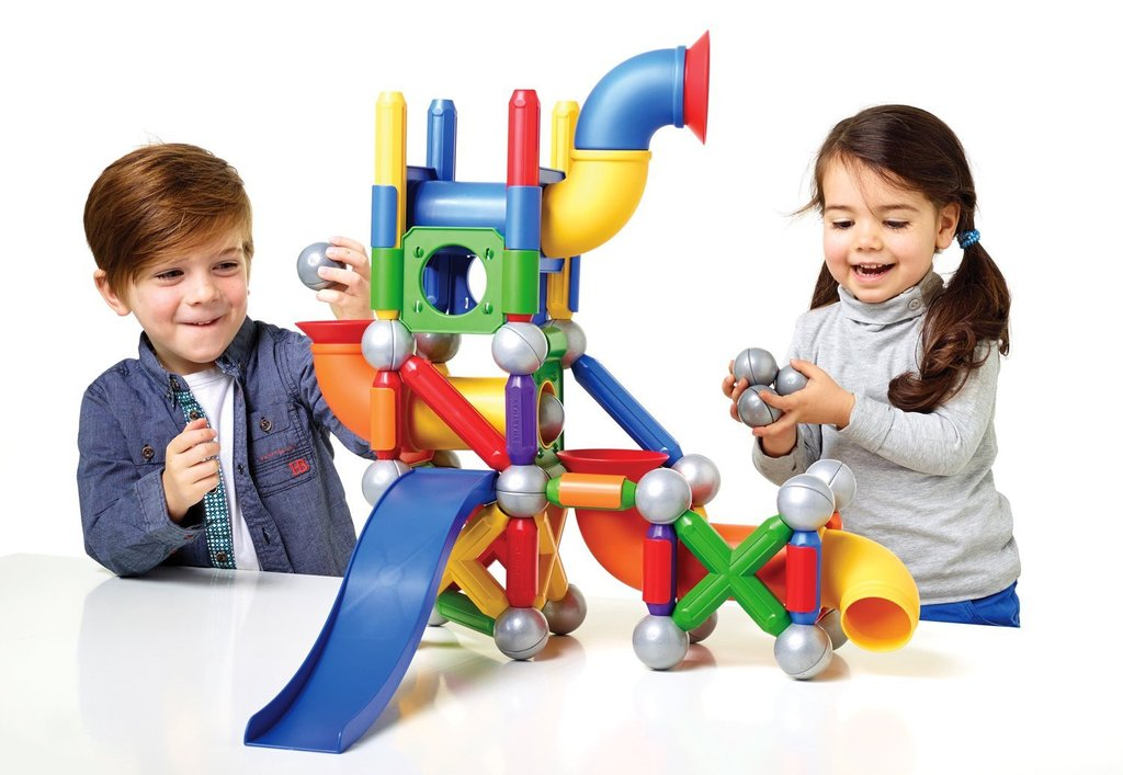 SmartMax Mega Ball Run magnetic discovery set