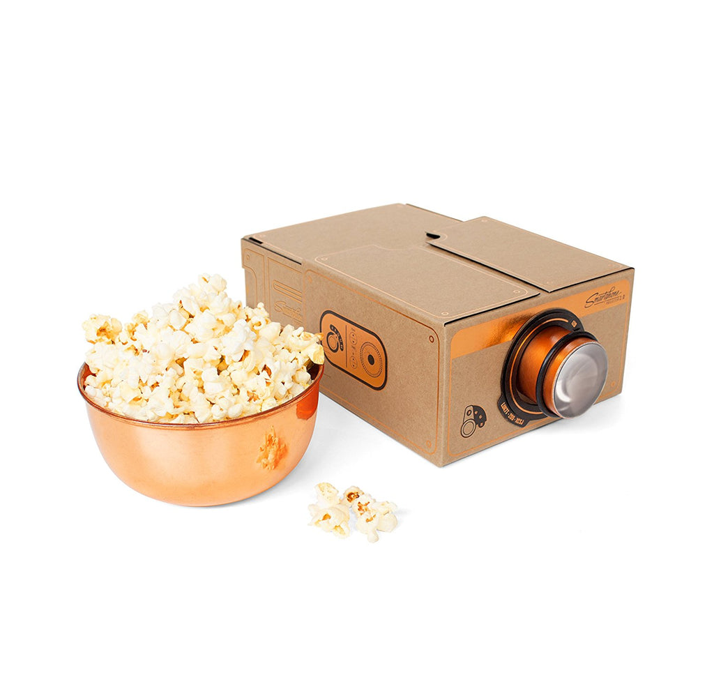 Smartphone Projector Copper