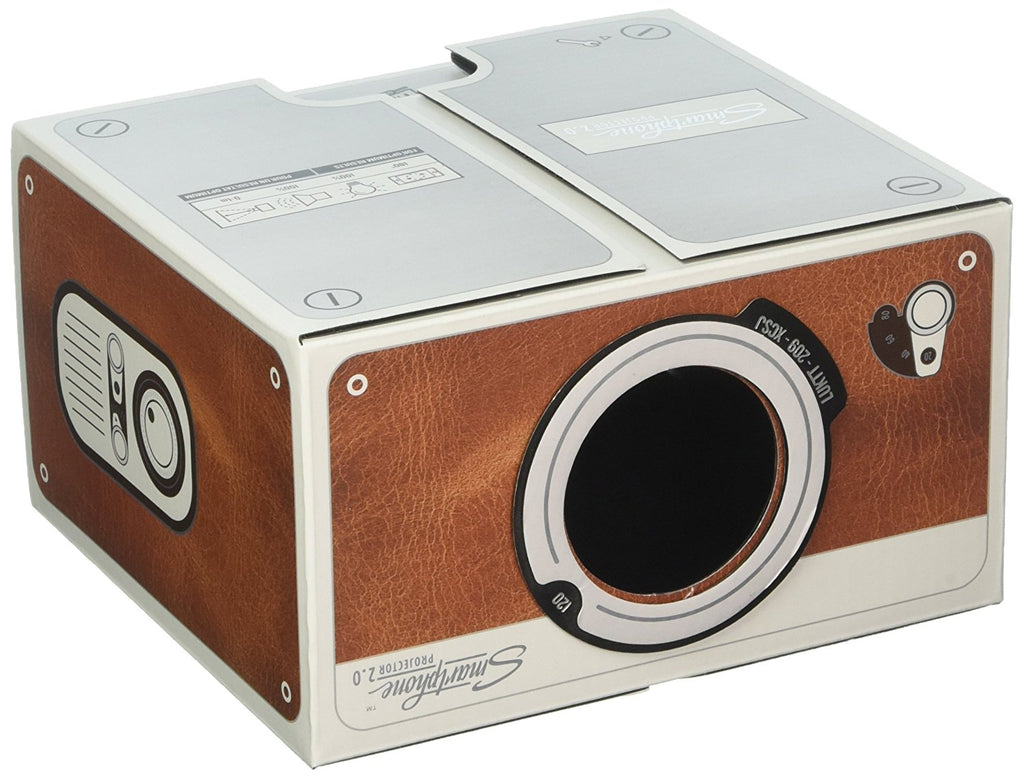 Smartphone Projector 2.0 Brown is a great gift for him or gadget gifts for men