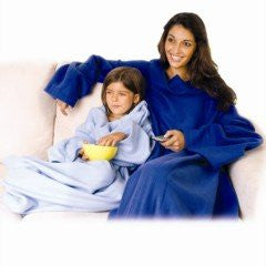 Snuggle Fleece Blanket with Sleeves - 3 Assorted Colours