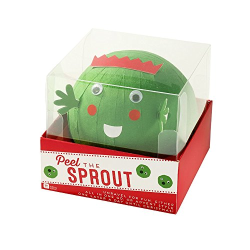 Peel The Sprout Advent Ball by Talking Tables Box