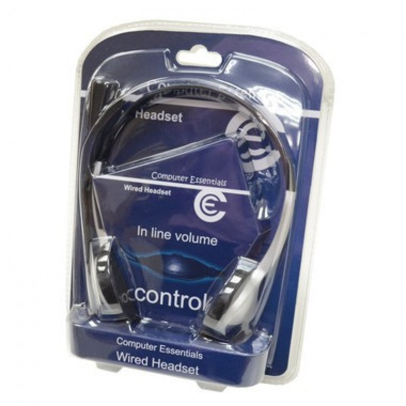 Computer Essentials Wired Headset with Mic