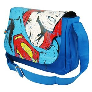 Superman Classic Retro Messenger Shoulder Action Sports Casual Bag