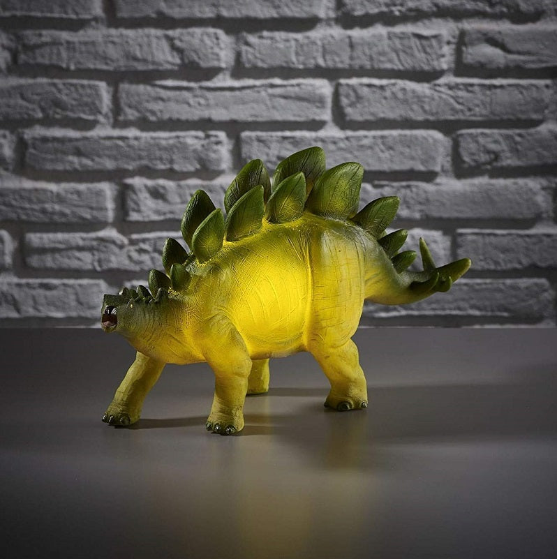 Retro Stegosaurus Dinosaur Novelty Table Lamp