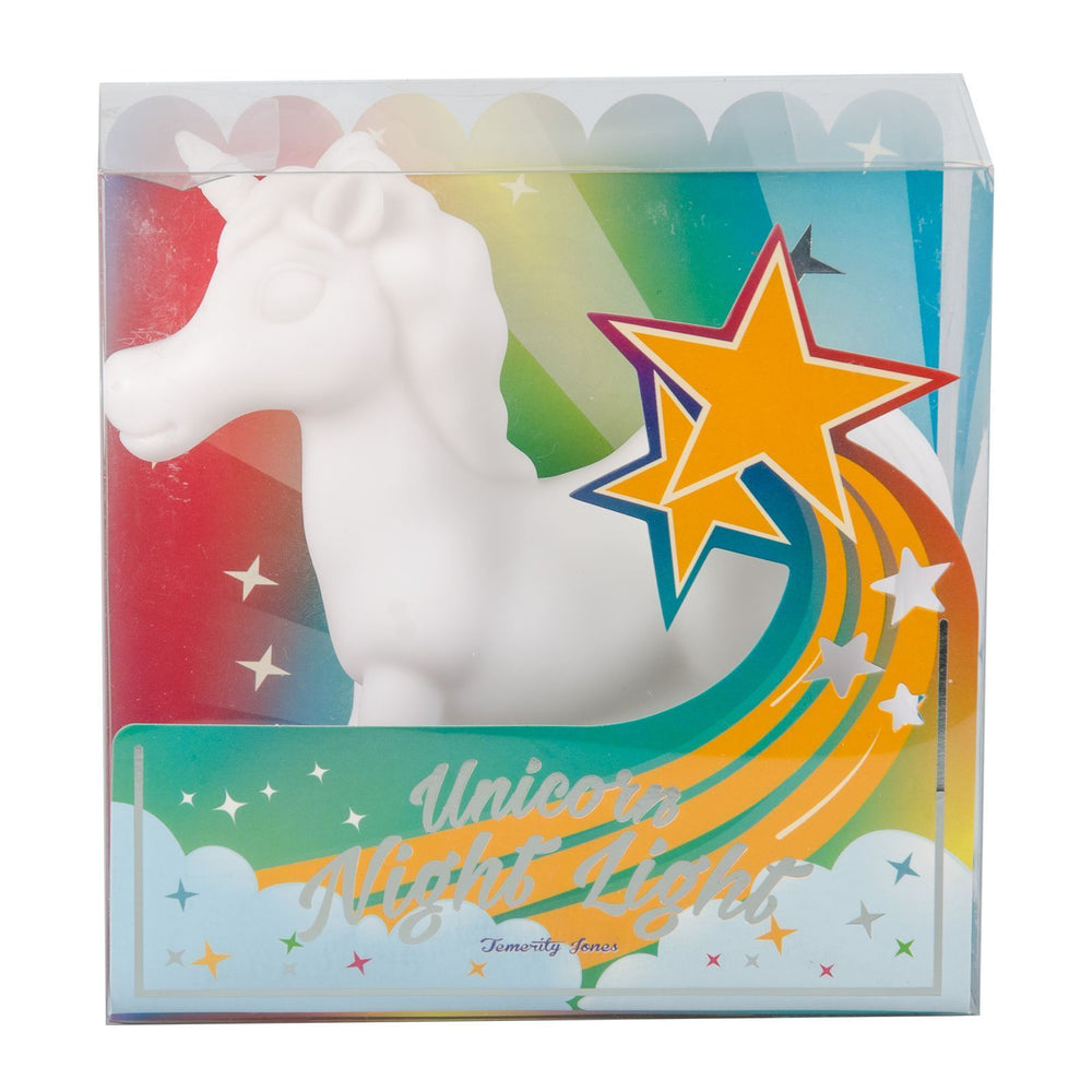 unicorn night light in box