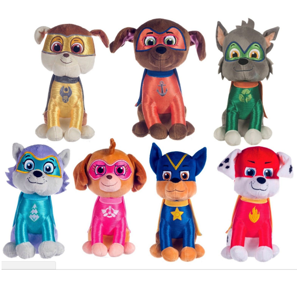 Paw Patrol Superheroes 'Zuma' Sitting Plush Soft Toy 27cm